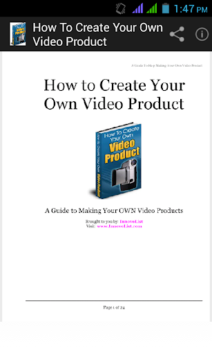 Create Your Own Video Product.