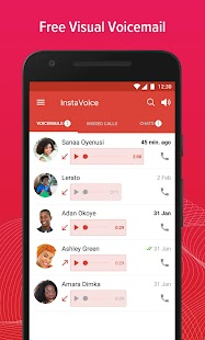 InstaVoice: Visual Voicemail & Missed Call Alerts - náhled