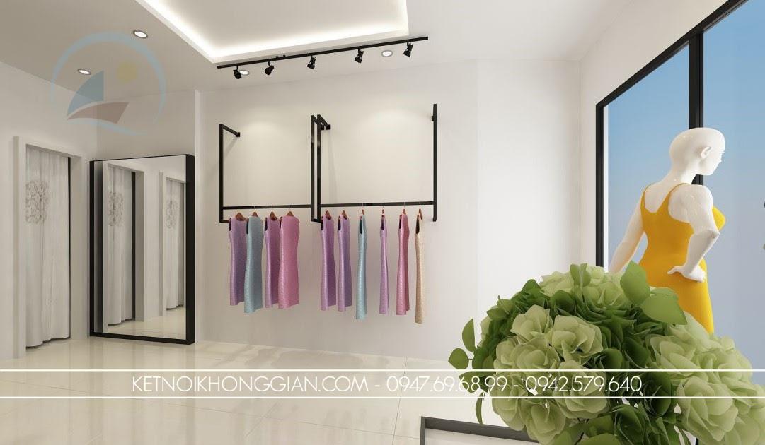 thiết kế cửa hàng thời trang 2