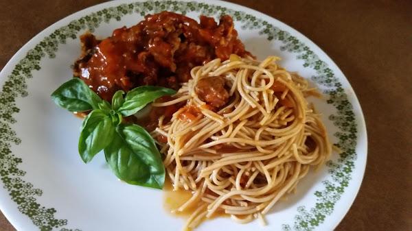 I Think I Got It Spaghetti Sauce Recipe