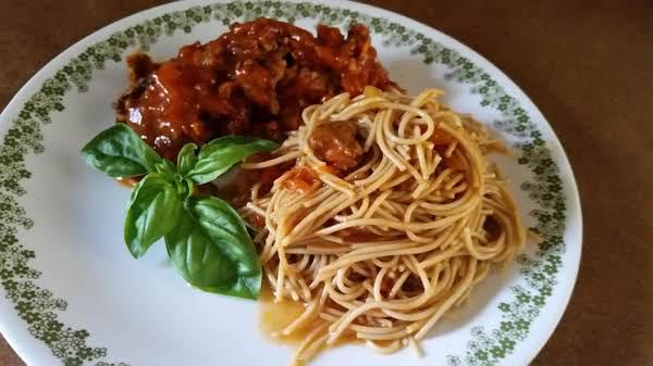 I Think I Got It Spaghetti Sauce