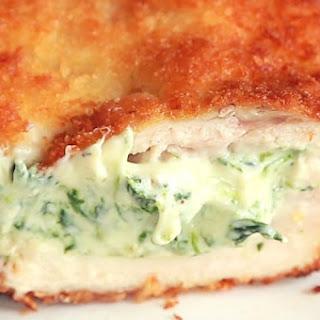 Spinach Dip Chicken Bombs.