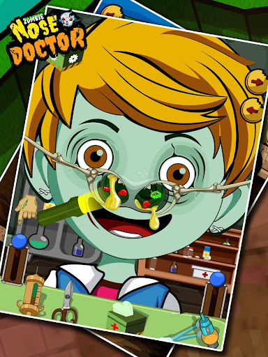 Zombie Nose Doctor Game Free