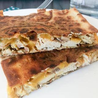 Easy Crispy Quesadilla's {THM-S, Low Carb}