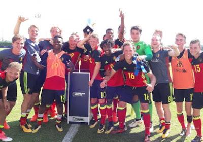 Les U19 belges remportent un tournoi