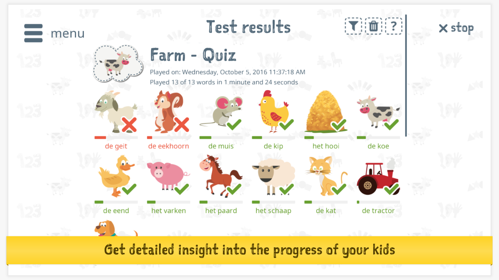 Learn Dutch For Kids With Amy Lite Edition Android Apps On - Us map quiz your child learns