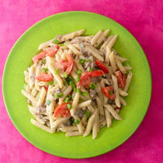 Tomato Alfredo Beef Recipes
