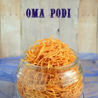 Oma podi/ Plain Sev- Easy Snack.