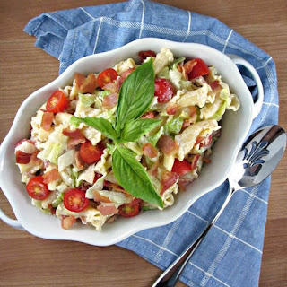 Ridiculously Easy BLT Pasta Salad