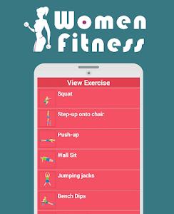 fitness for women : workout screenshot 6