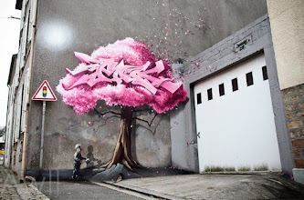 Photo: By the french artist PakOne for the 8th episode of the Crimes of Minds project