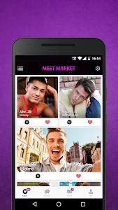 Meet Market - Gay Chat, Dating screenshot 0