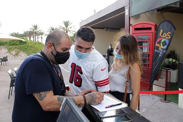 Medidas de seguridad en la fiesta Made in Ibiza.
