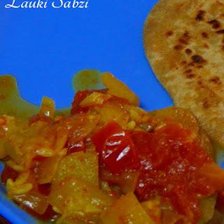 Lauki Sabzi (Bottle gourd Curry)