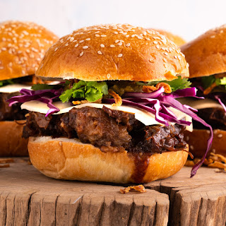 Asian Beef Short Rib Burgers Recipe