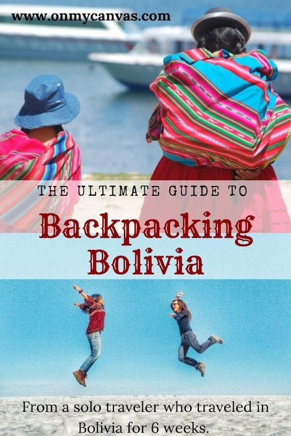 pinterest image for traveling in bolivia guide