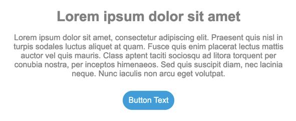 Capture d'écran montrant les modifications apportées au bouton dans le menu du bouton.