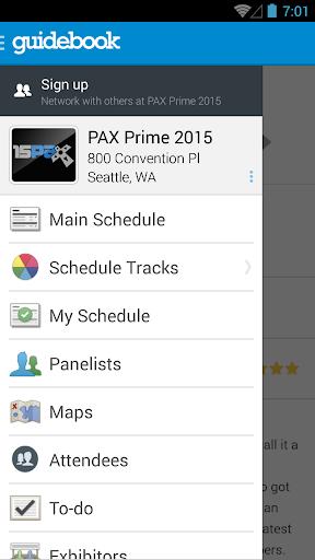 PAX Prime 2015 Mobile App
