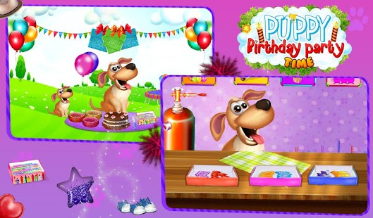 Puppy Birthday Party Time- screenshot thumbnail
