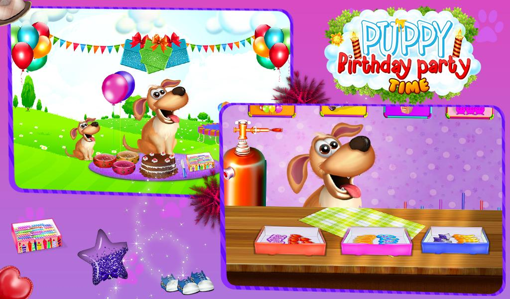 Puppy Birthday Party Time- screenshot