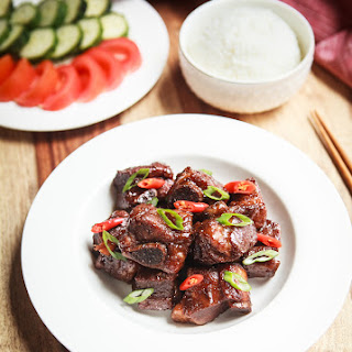 Instant Pot Vietnamese Caramelized Pork Spare Ribs Recipe