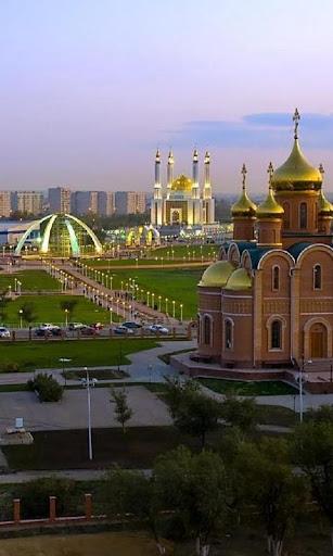 哈萨克斯坦拼图