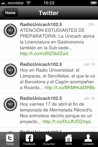 Unicach Radio- screenshot