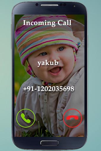 Full Screen True Caller ID