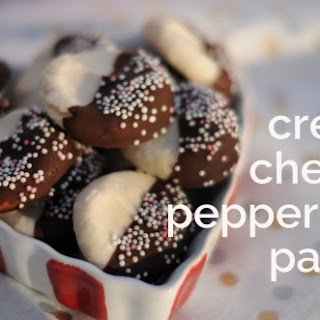 Cream Cheese Peppermint Patties