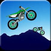 Moto Racer on Hills