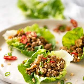 San Choy Bow (Chinese Lettuce Wraps).