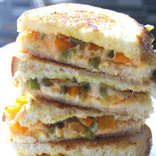 LOADED GRILLED CHEESE.