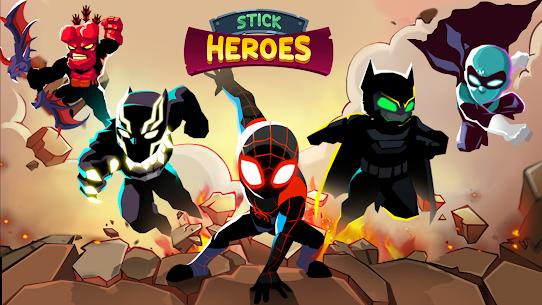 Stick Heroes: Arrow Master MOD (Unlimited Money) 3