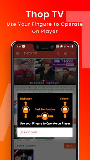Thop TV: Live Cricket TV Streaming