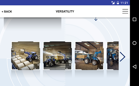 New Holland Ag. T6 range App screenshot 13