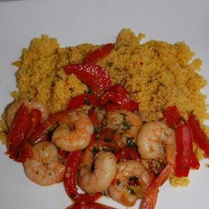 Spicy Shrimp Tagine