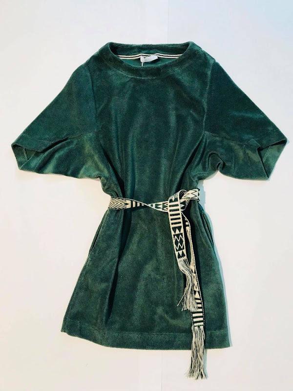Dress Teddy Tess Dark Green
