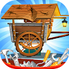 Horse Carriage Repair - Fixing and Cleanup Game