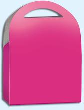 Photo: Caixa com abas de abertura na forma de arco.
