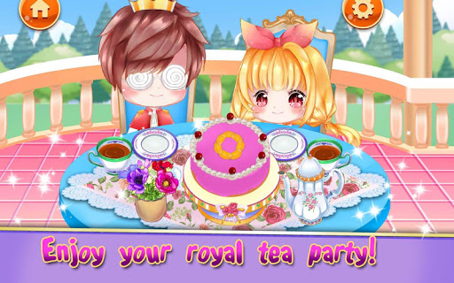 Royal Princess Tea Party Design and Decoration 1.1 screenshots 15