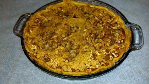 Butternut Squash Pie With Praline Topping Recipe