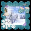 Winter Photo Frames Maker icon