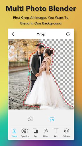 Multiple Photo Blender : Double Exposure screenshot 1