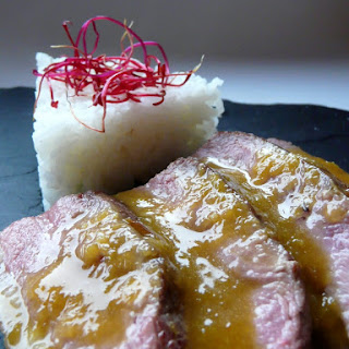 Duck with Orange Sauce.