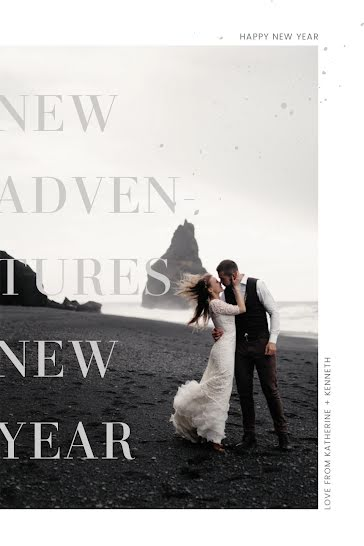 Kate & Ken's Wedding - New Year's template