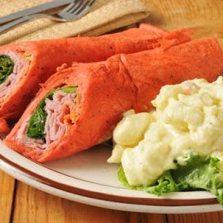 Tortilla Wraps Ham Recipes.