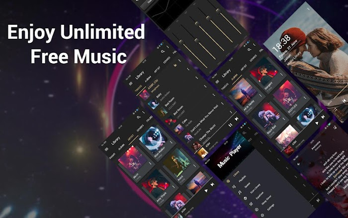 Bass Booster &EQ Music Player v1 6 8 For Android APK