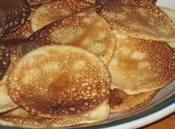 Plättar (Swedish-Finnish Pancakes)