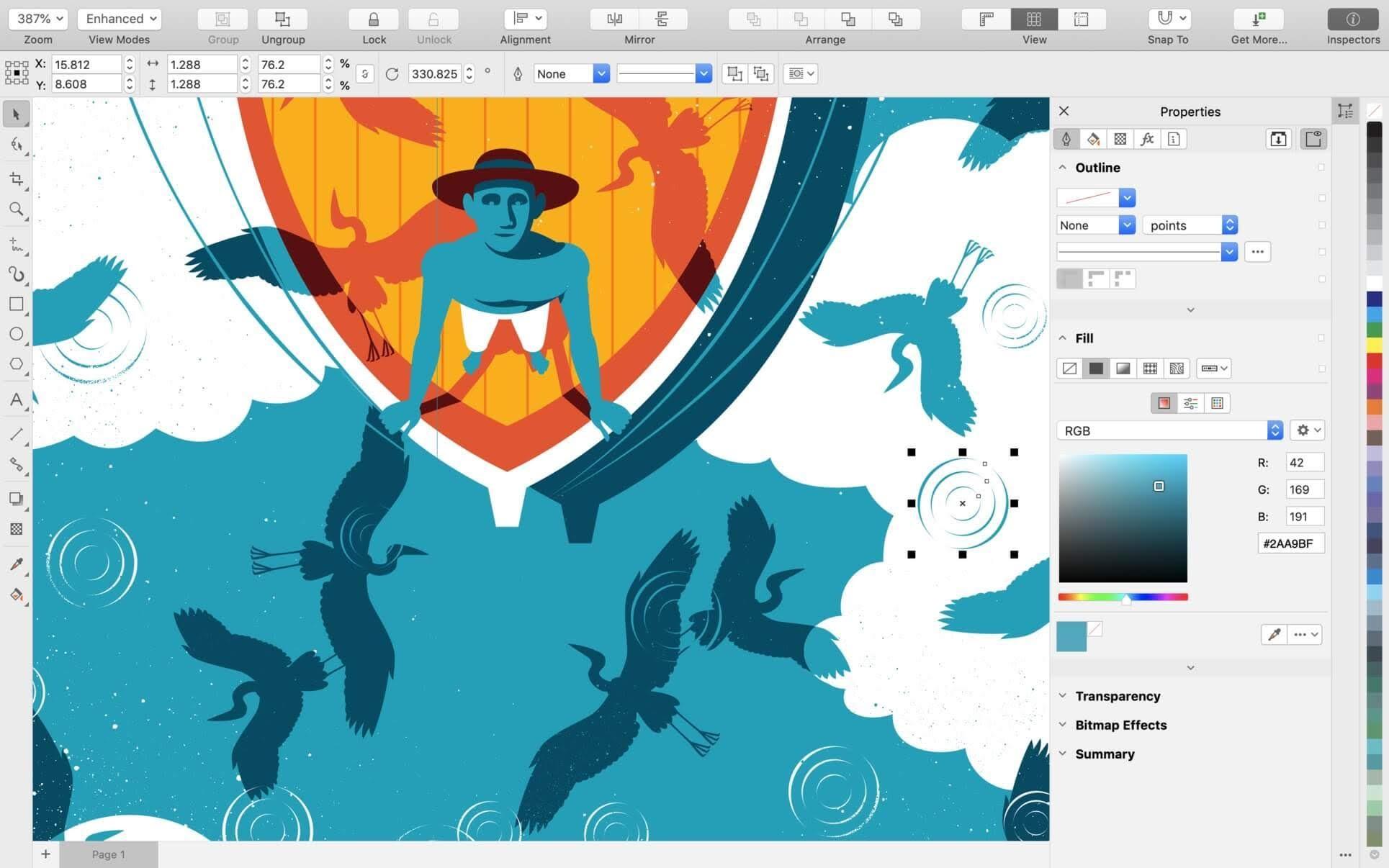 CorelDRAW Graphics Suite 2019 cho Mac