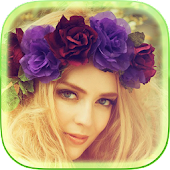 Flower Crown Photo Collage